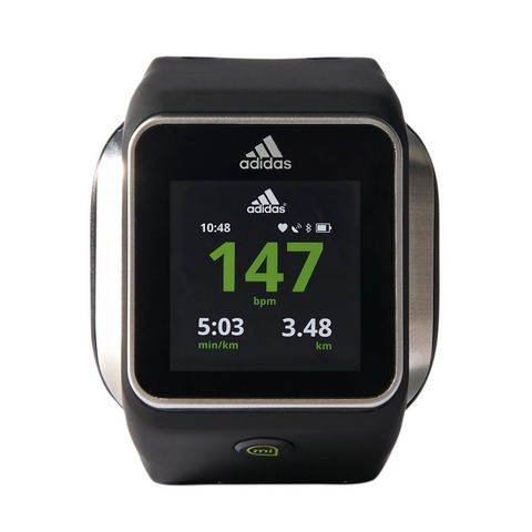 ADIDAS PERFORMANCE hartslagmeter smartwatch, zwart,