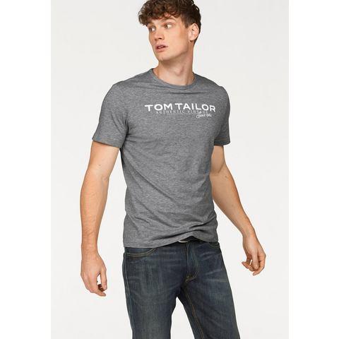 TOM TAILOR T-shirt met logoprint