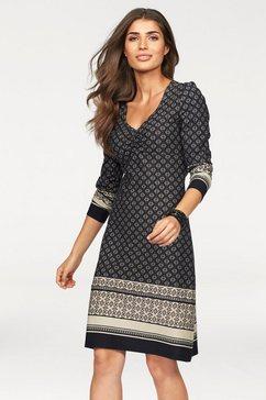Jersey-jurk met allover-print