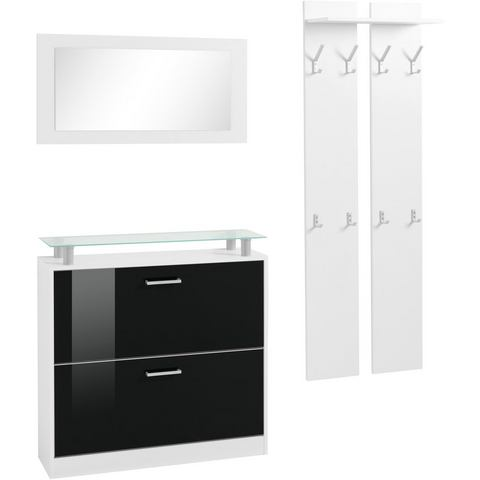 Complete garderobes Halmeubelen Finn in 3-delige set 724821