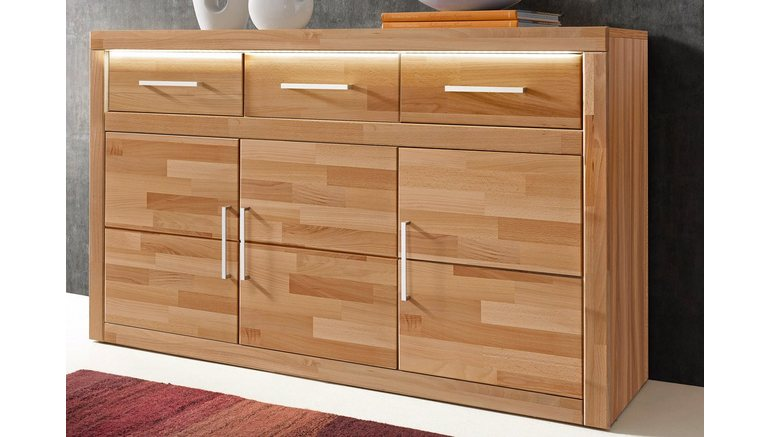 sideboard breedte 130 cm makkelijk gekocht otto. Black Bedroom Furniture Sets. Home Design Ideas