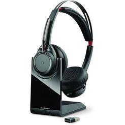 plantronics headset »voyager focus uc b825« zwart