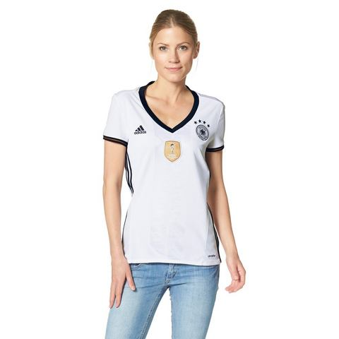 NU 15% KORTING: ADIDAS PERFORMANCE Shirt DFB HOME WOMEN EK 2016