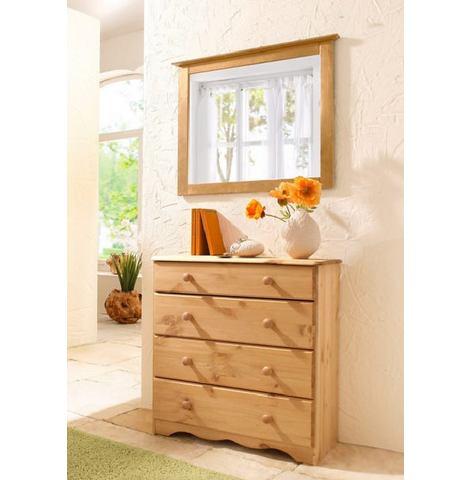 Kasten  vitrinekasten HOME AFFAIRE Kast met 4 laden breedte 70 cm 384780