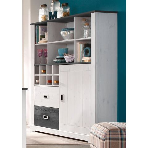 HOME AFFAIRE Highboard List 111 cm breed