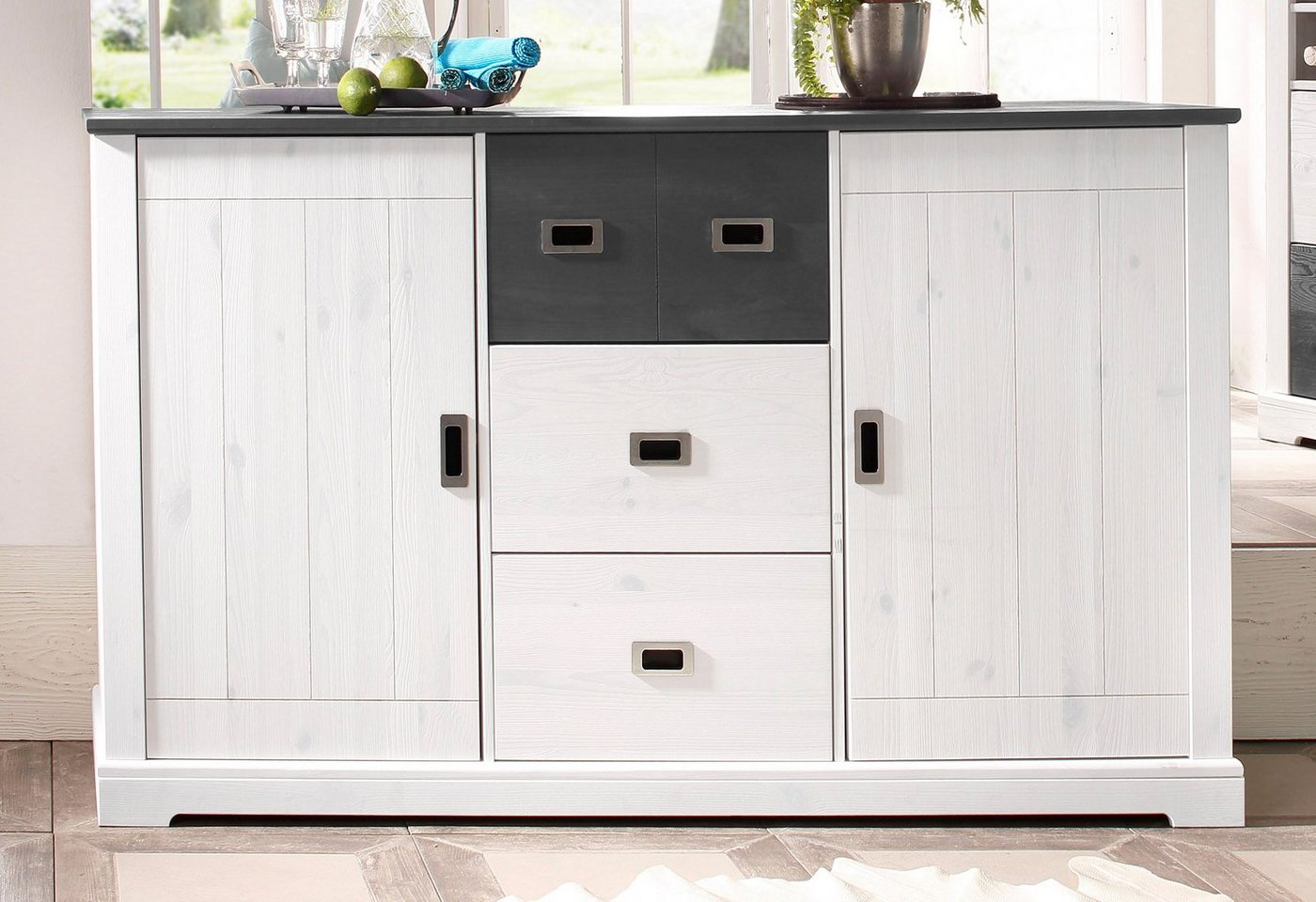 HOME AFFAIRE Sideboard List 160 cm breed