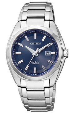 citizen horloge met reservecapaciteit, »ew2210-53l« zilver