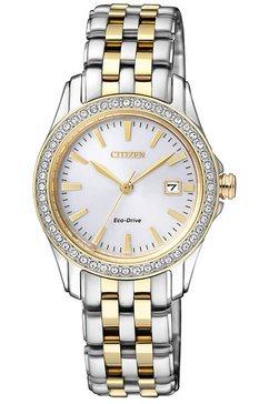 citizen horloge met reservecapaciteit, »ew1908-59a« zilver