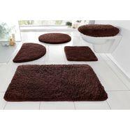 badmat »merida«, my home, hoogte 32 mm, met antislip-coating, geschikt voor vloerverwarming bruin