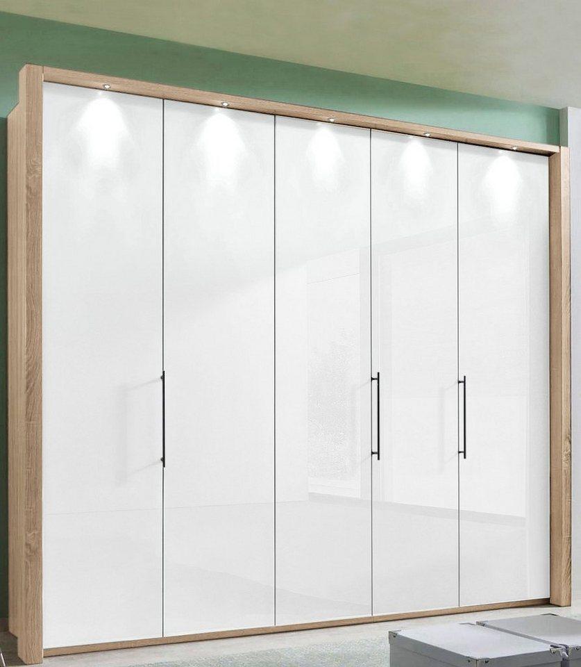WIEMANN Panoramavouwdeurkast Loft met glazen front