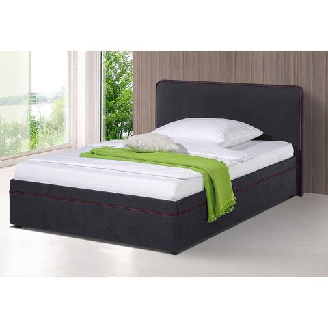MAINTAL Bed in 6 uitvoeringen vaste 5 zones Bonell binnenvering zwart Maintal 341961