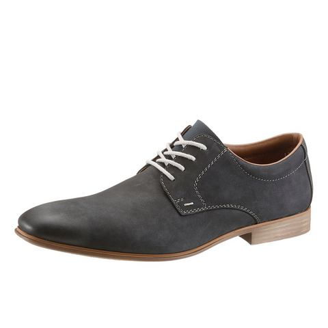 Heren schoen: RIEKER Business-veterschoenen in casual look