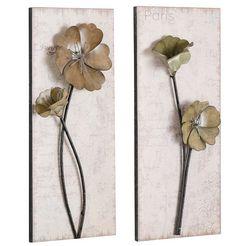 hofmann living and more artprint used look 2x 30-71 cm (set) bruin