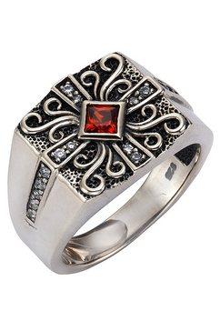 firetti ring met fonkelende zirkoon rood