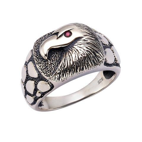 NU 15% KORTING: firetti ring met fonkelende zirkoon, Adelaar