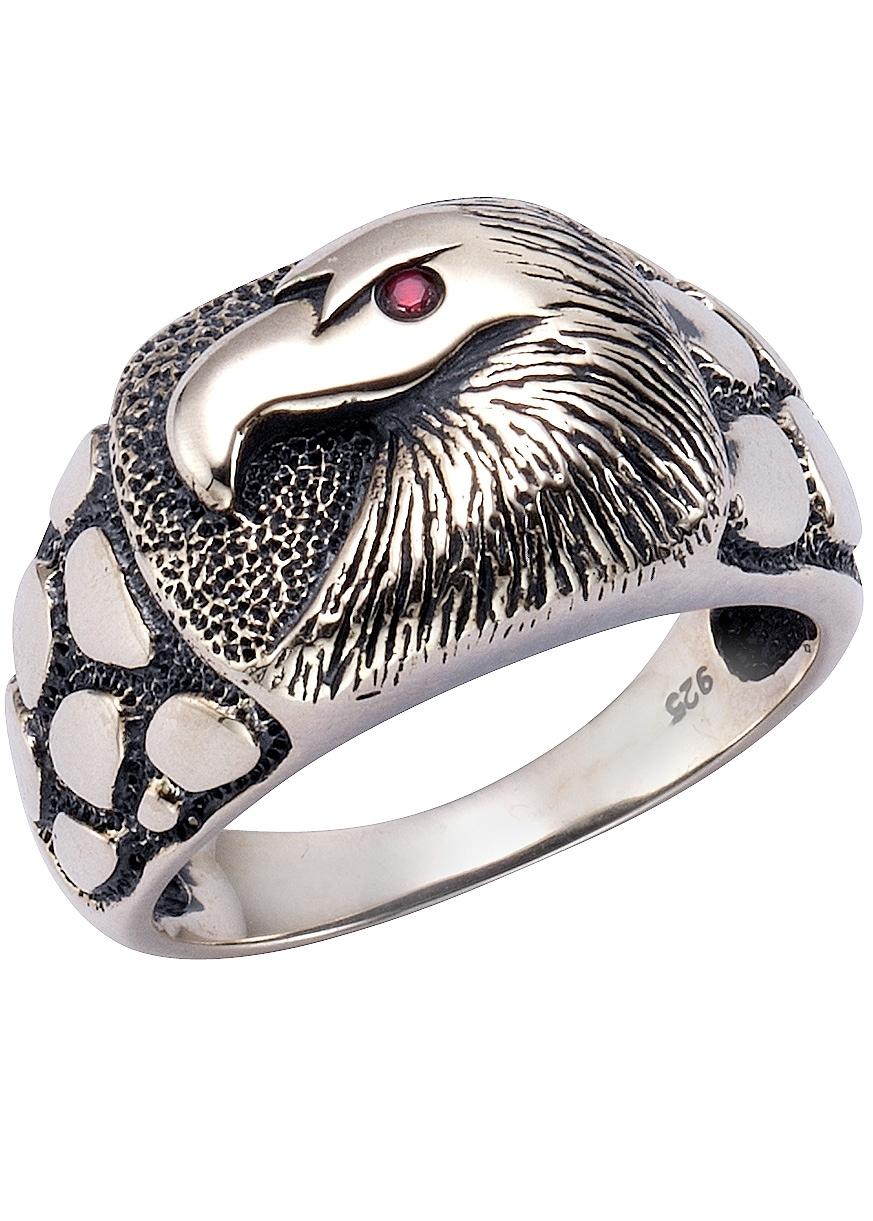 Firetti ring met fonkelende zirkoon, »Adelaar« - verschillende betaalmethodes