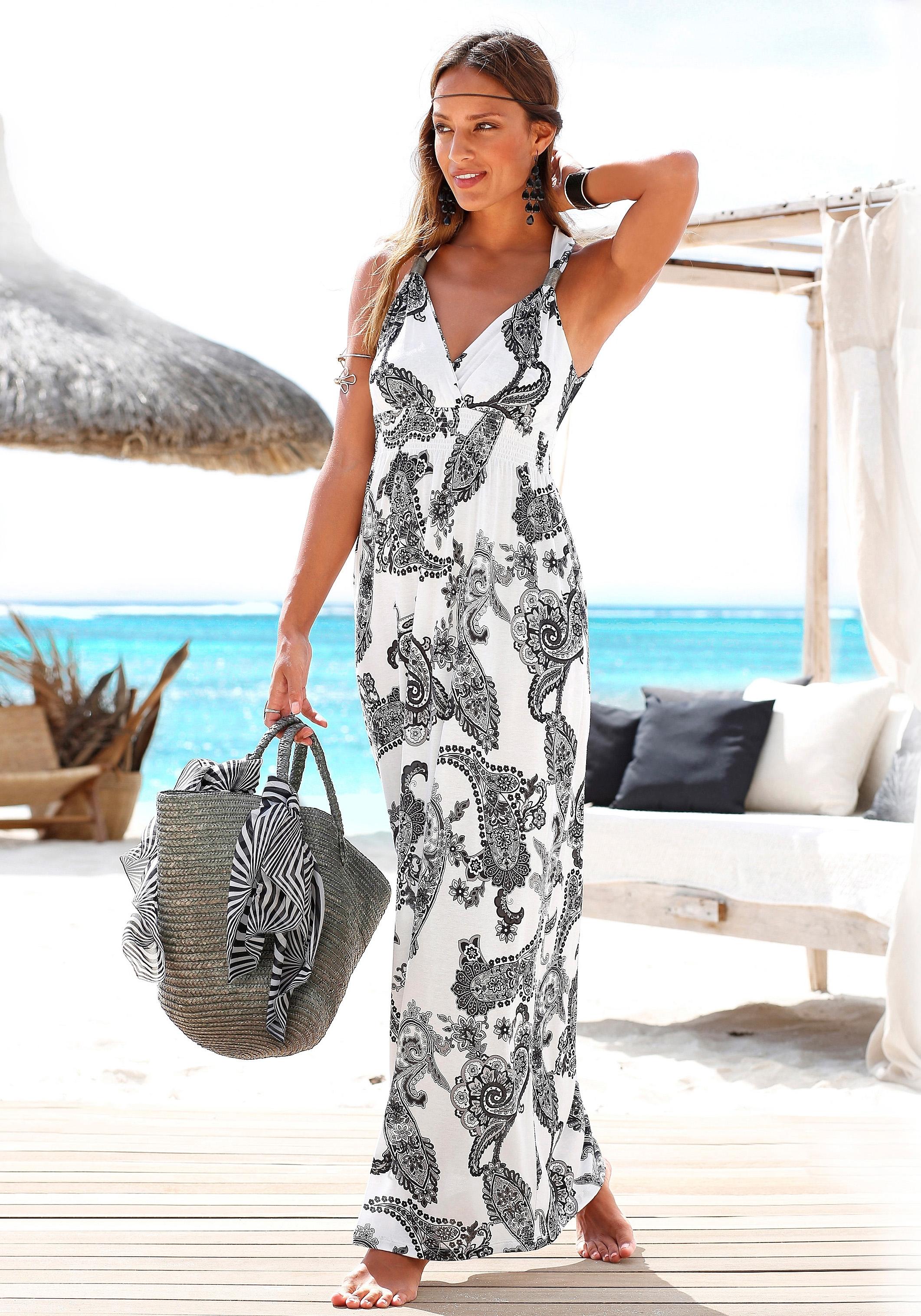 Lange jurk zwart strak