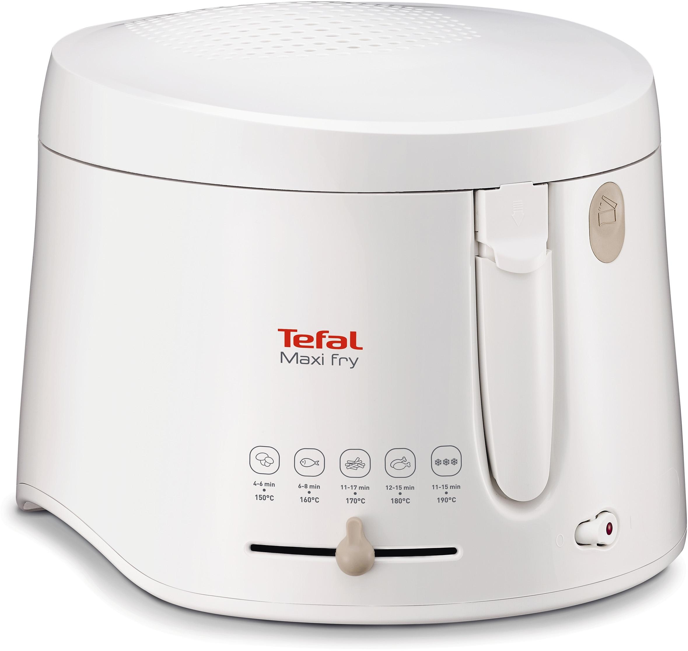 Tefal friteuse Maxifry FF1000 Inhoud voor 1,2 kg, afneembare, vaatwasserbestendige deksel voordelig en veilig online kopen