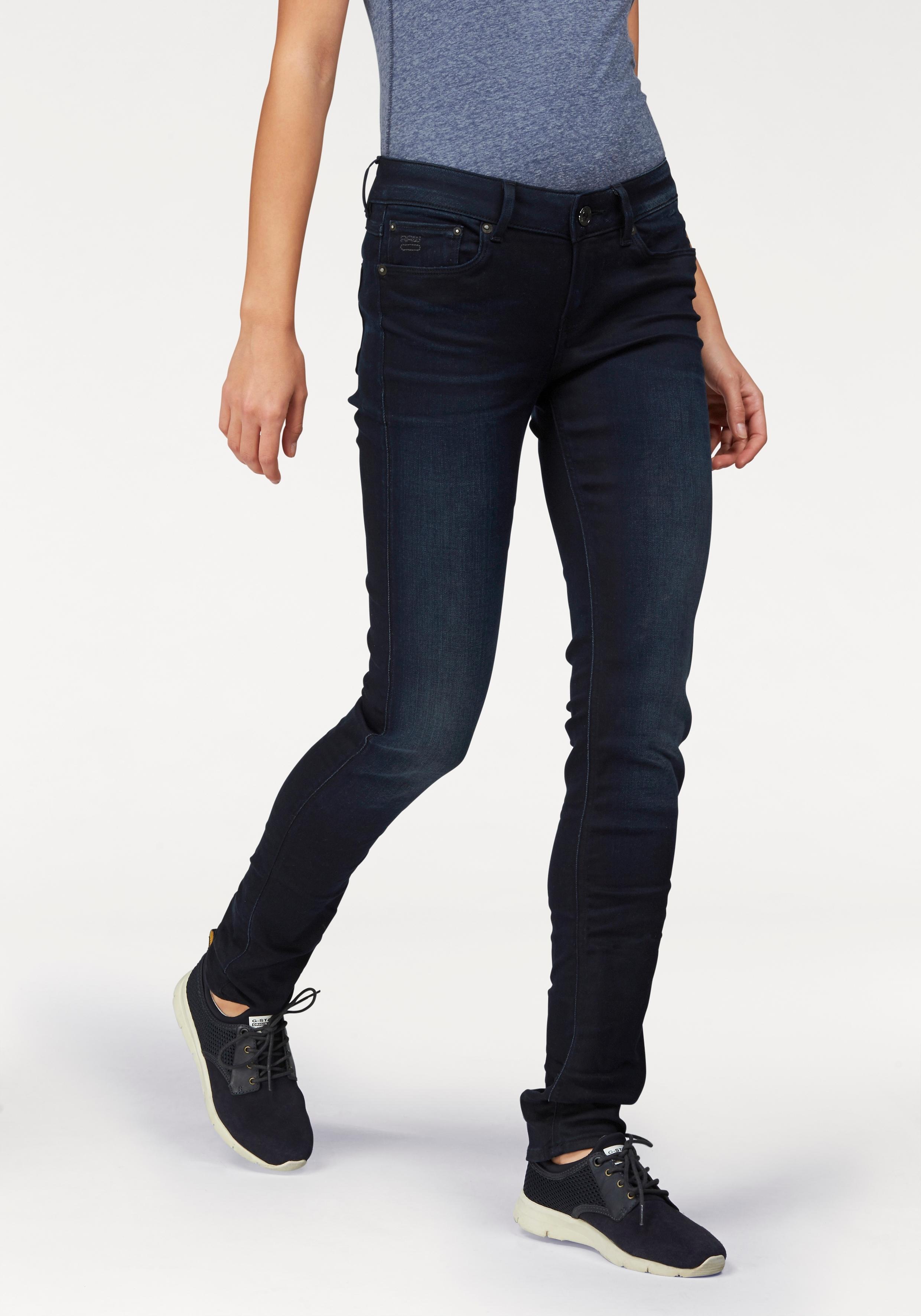 G-star Raw G-STAR stretchjeans »3301 contour high skinny« nu online kopen bij OTTO