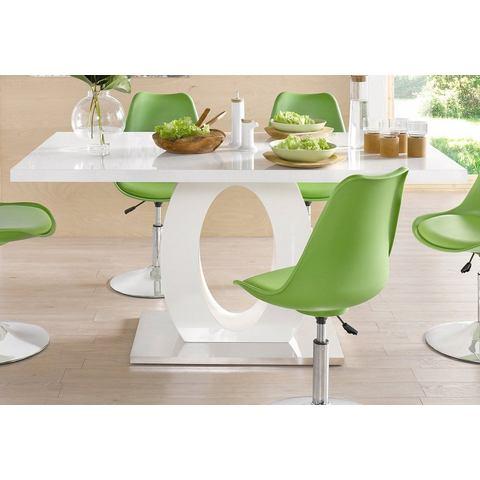 Eettafel met rechthoekig tafelblad
