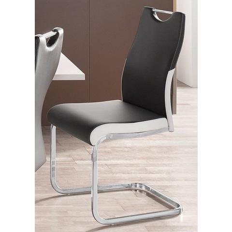 Eetkamerstoelen Vrijdragende stoel in set van 2 of 4 289780