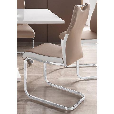 Eetkamerstoelen Vrijdragende stoel in set van 2 of 4 714562