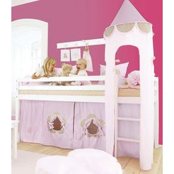 hoppekids halfhoogslaper fairytale flower roze