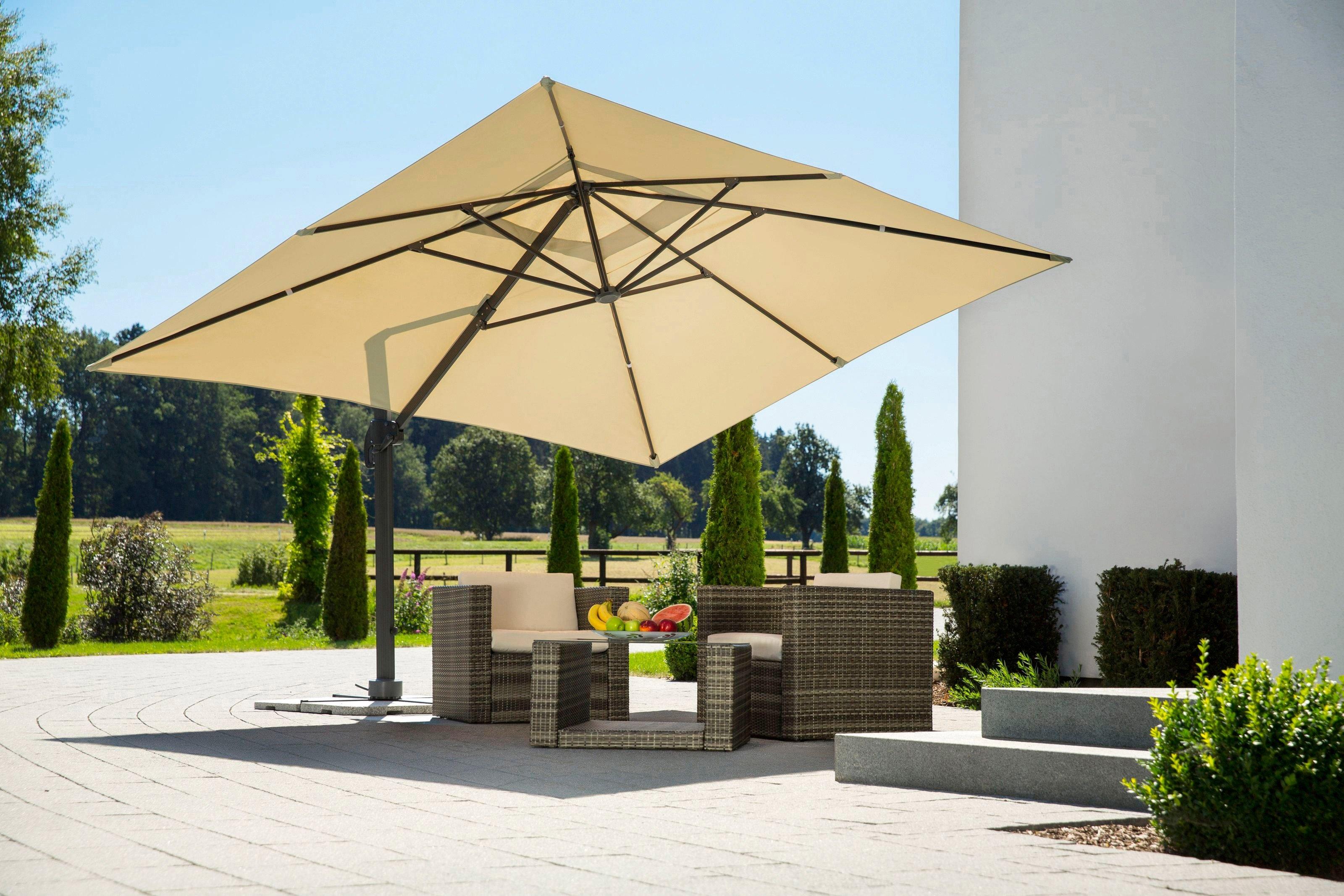 schneider parasols parasol rhodos grande 400x300 cm
