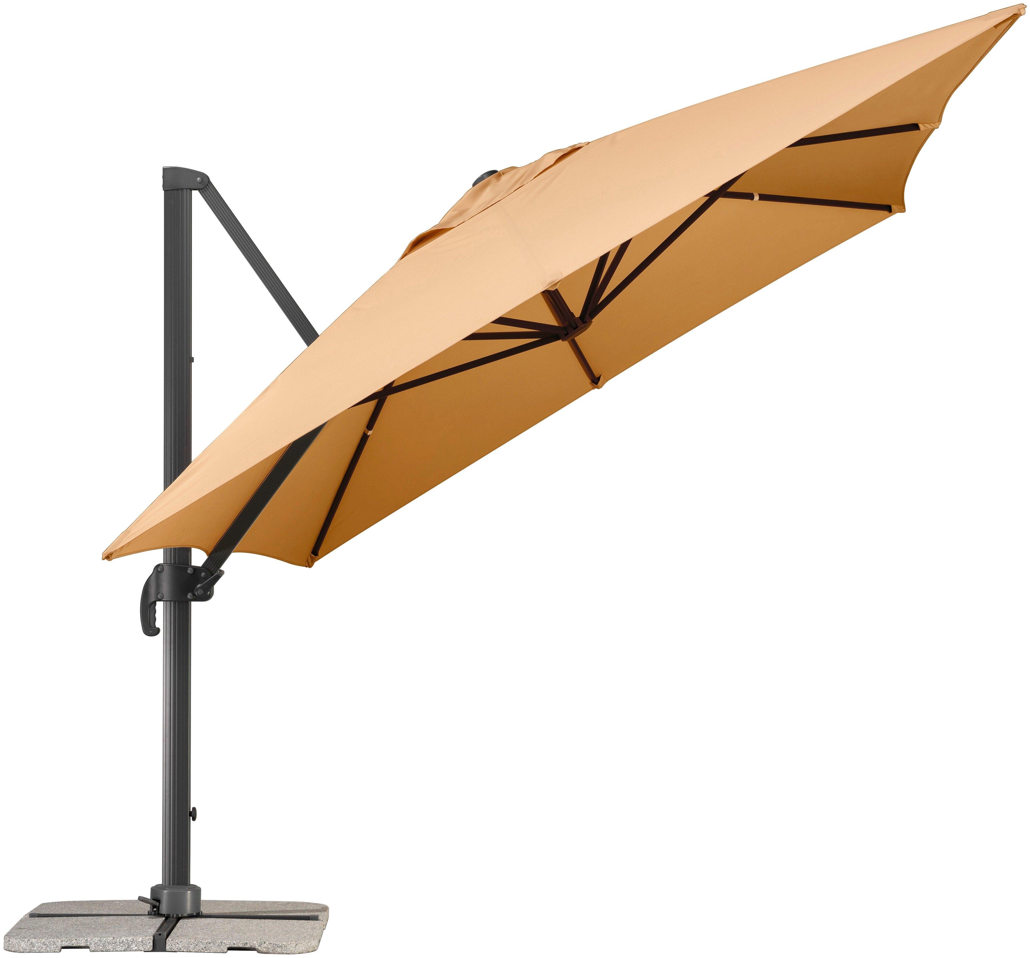 schneider parasols parasol rhodos grande 400x300 cm online kopen otto. Black Bedroom Furniture Sets. Home Design Ideas