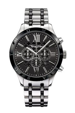thomas sabo chronograaf »rebel urban, wa0139« zilver