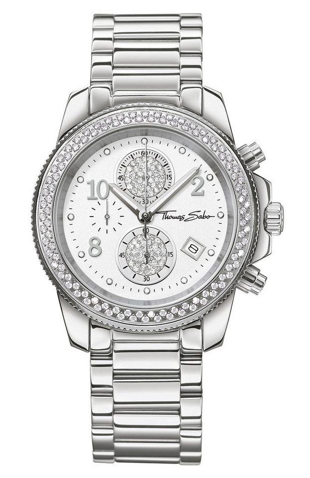 THOMAS SABO chronograaf »GLAM CHRONO WA0201«