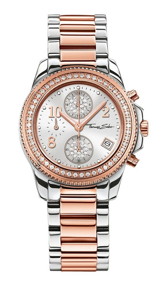 THOMAS SABO chronograaf »GLAM CHRONO WA0241«