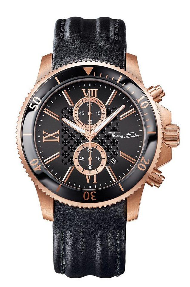 THOMAS SABO chronograaf »REBEL RACE WA0189«