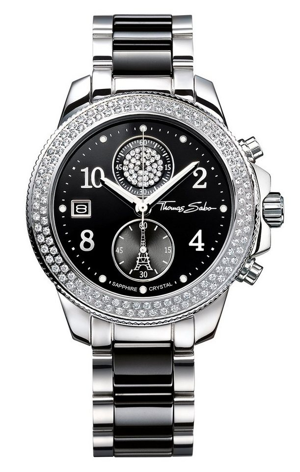 THOMAS SABO chronograaf »GLAM CHRONO WA0185«