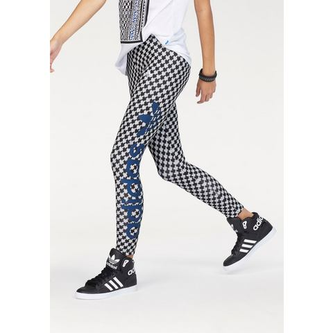 NU 10% KORTING: ADIDAS ORIGINALS Legging met logoprint