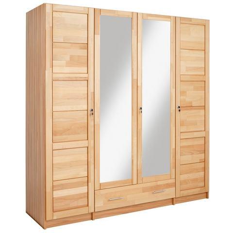 Garderobekast van beukenkernhout
