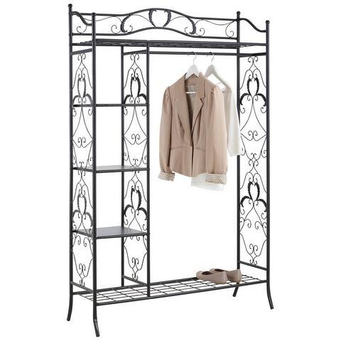 Complete garderobes HOME AFFAIRE Metalen kapstok in romantisch design 804788