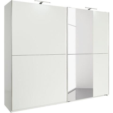 Kledingkasten FRESH TO GO Zweefdeurkast met spiegel 865224