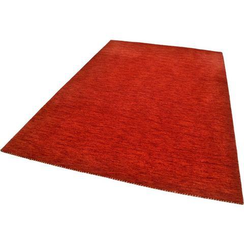 THEKO Handgeweven karpet Haltu Uni