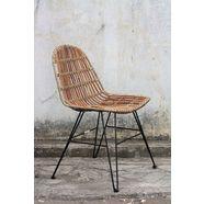 sit rotan stoel »vintage«, in set van 2 bruin