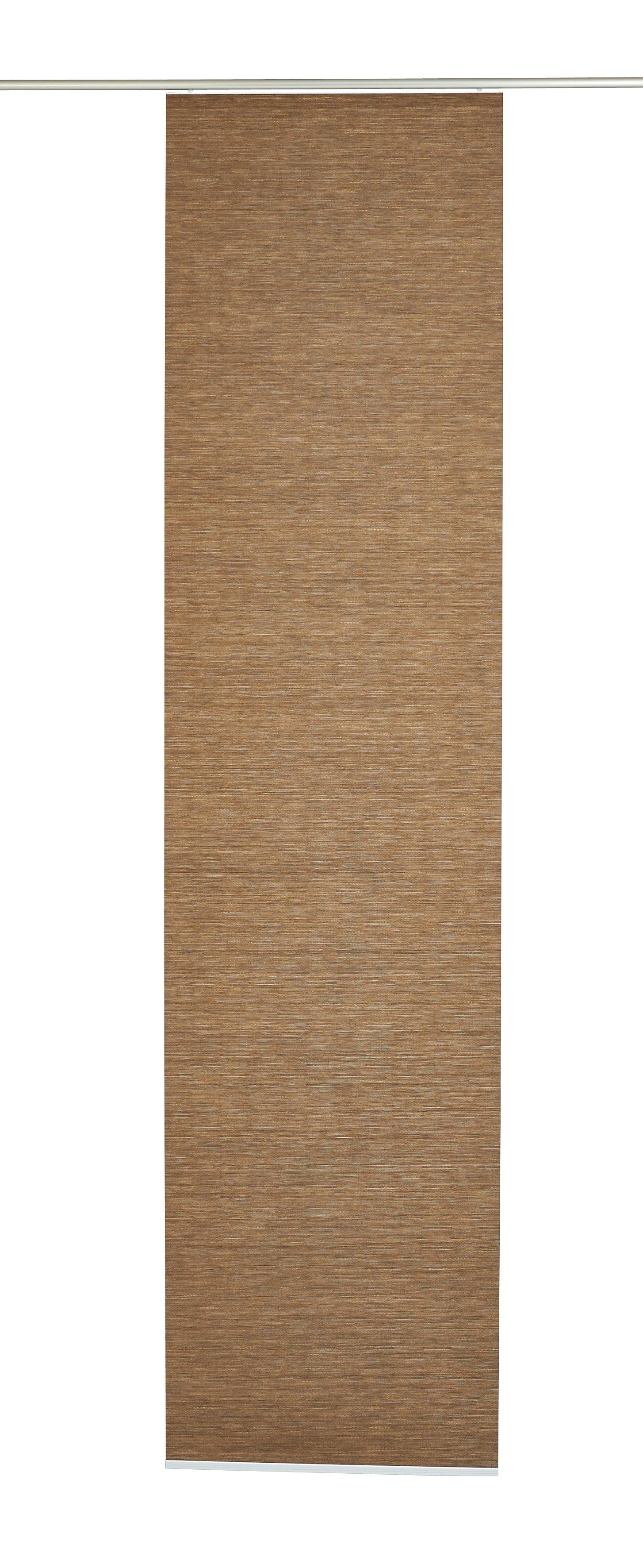 GARDINIA Paneelgordijn naturel-look HxB: 245x60 (1 stuk) - verschillende betaalmethodes