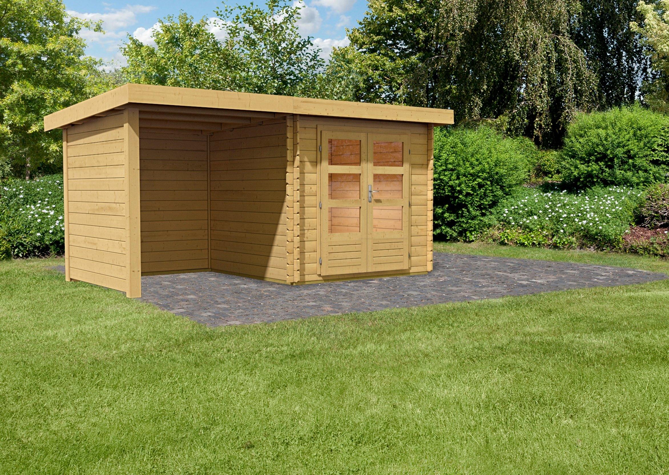 Konifera complete set tuinhuisje ringk bing 2 met for Gartenhaus mit zwei raumen