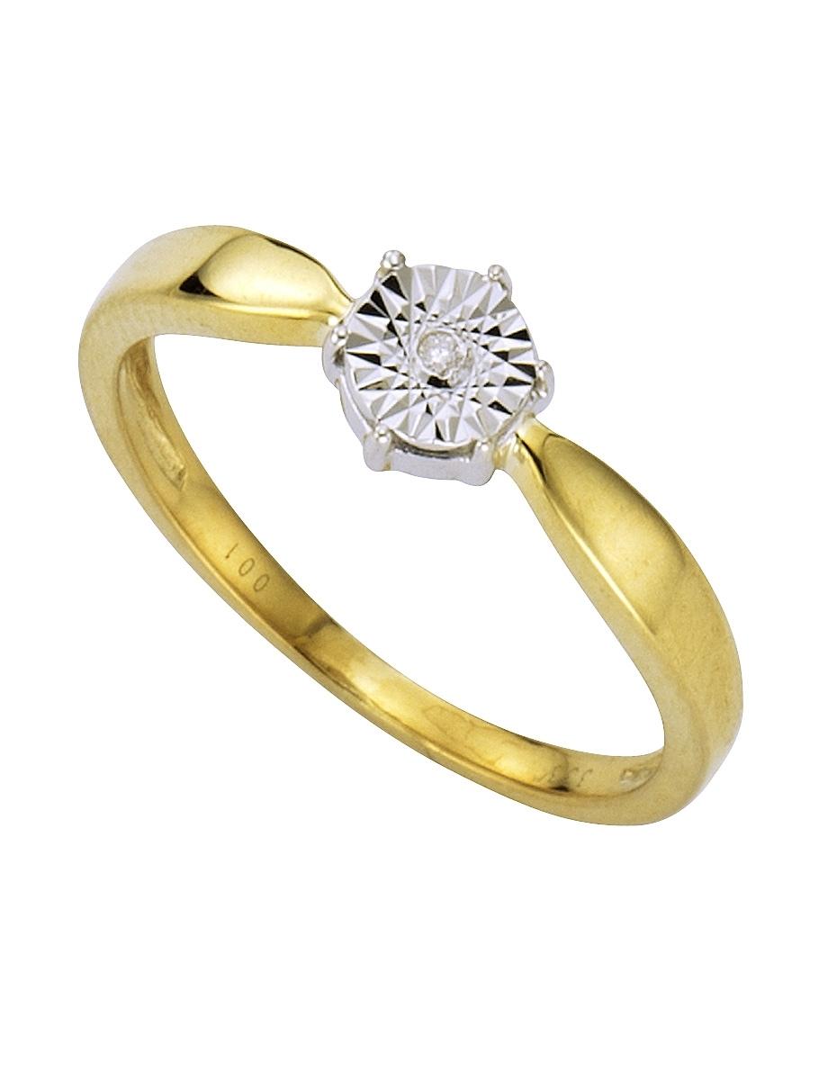 Firetti gouden ring Met structuur in de webshop van OTTO kopen
