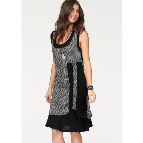 Picture BOYSEN'S Jersey-jurk in dubbellaagse verwerking zwart 553407