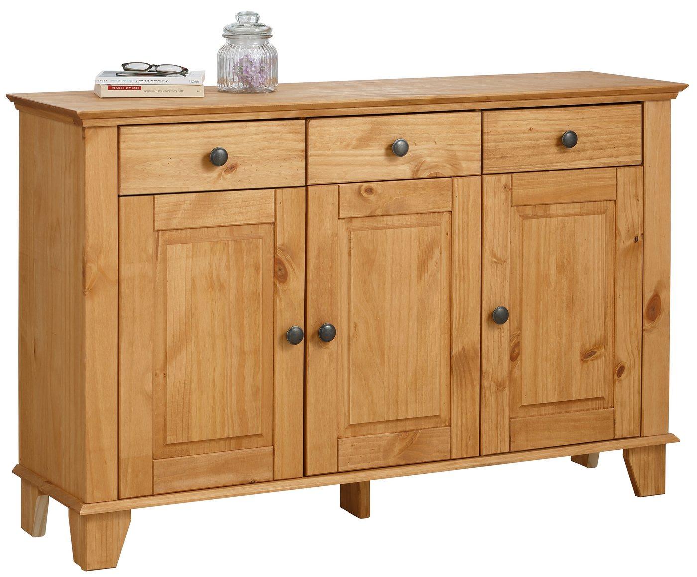HOME AFFAIRE dressoir James, breedte 125 cm.