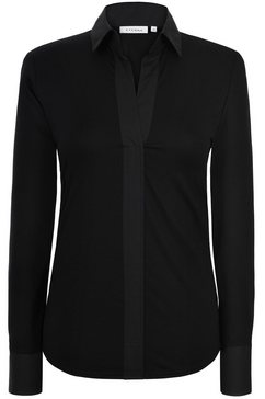 eterna lange arm blouse »modern classic uni« zwart