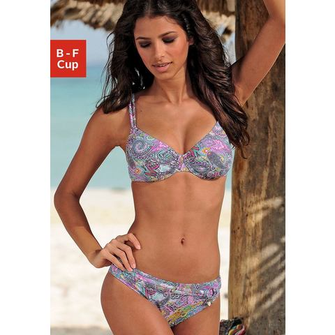 NU 15% KORTING: S.OLIVER Beugelbikini in paisleydessin (2-delig)