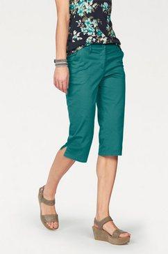 Capri-broek met iets lagere taille