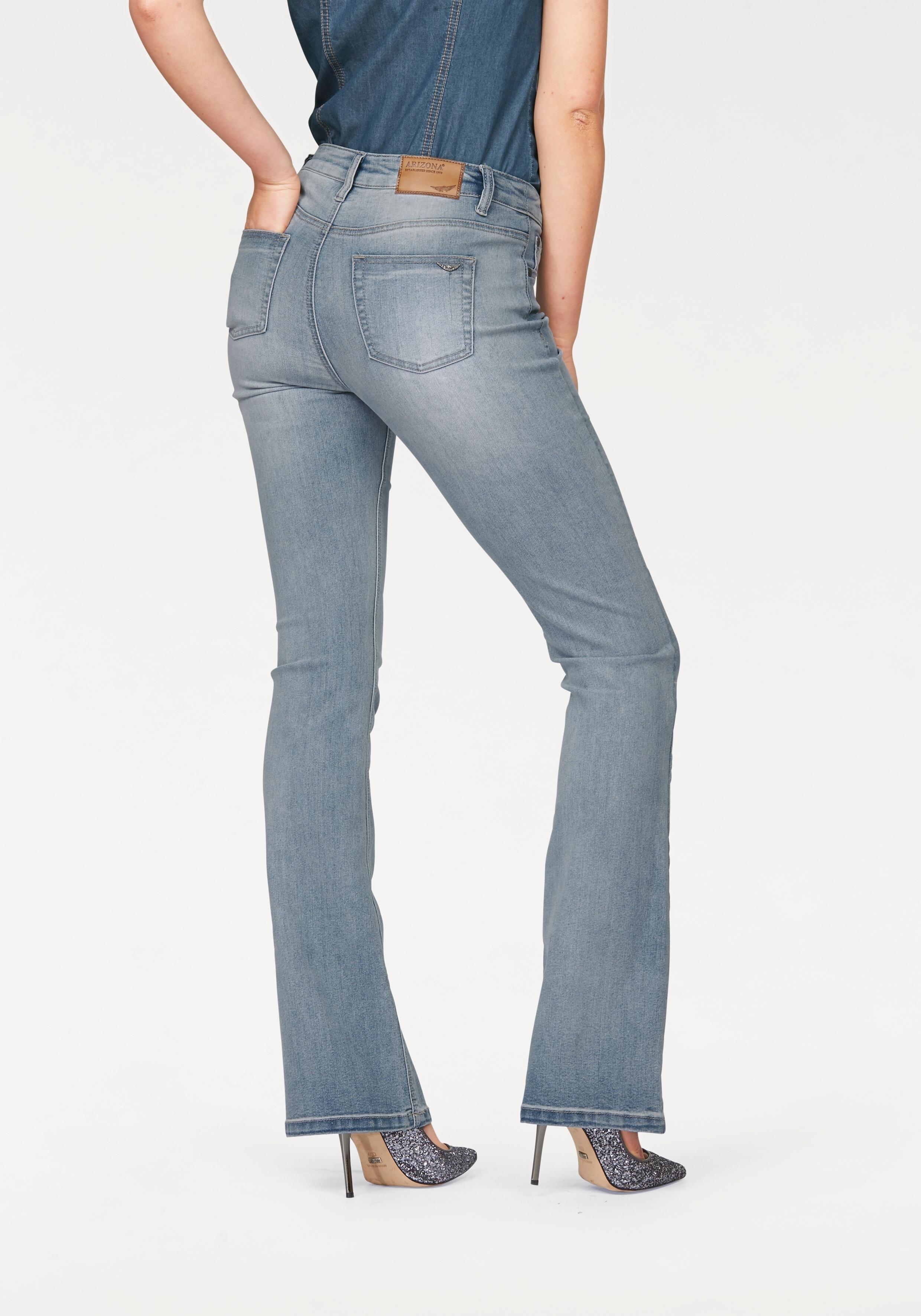Arizona Bootcut jeans Shaping High Waist online kopen op otto.nl