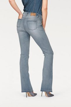 arizona high-waist-jeans bootcut blauw
